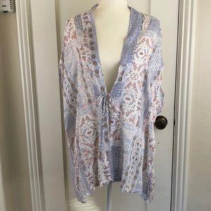 Victoria's Secret floral geometric short robe